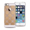 PURO GOLDEN Etui Pokrowiec Silikon iPhone 5 5S